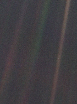 Pale Blue Dot, NASA/JPL